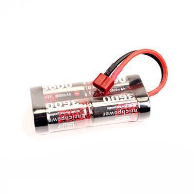 EP Batteries 4 Cell Pack Sc3600Mah EP3600B 4.8V Nimh